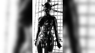 Compulsory Orgasms: Immobilized in latex