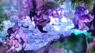Night Elves serves to Worgens