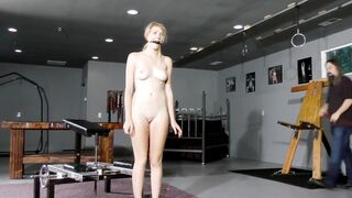She thought she was prepared - Gagged
