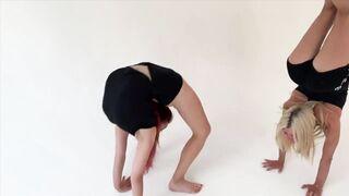 Tanyha Belova and Alesya Laverycheva , continued