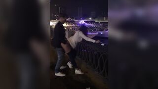 Young couple can't wait