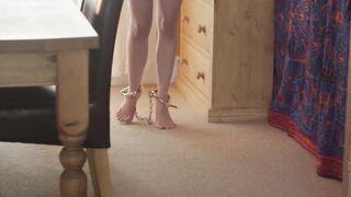 Walking on tip-toes