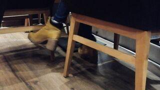 Crazy shoeplay