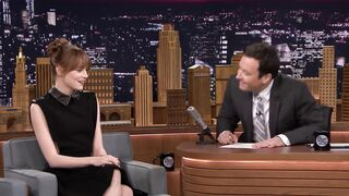 Graceful Celebrities: Emma Stone getting sad