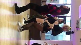 Lea Gotz twerking