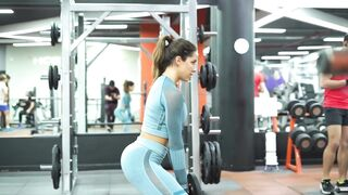 Doing Squats