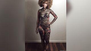 A Black Woman's Body Is Art, Appreciate It Daily.