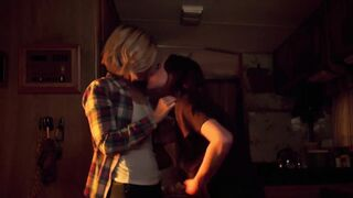 Ellen Page and Kate Mara Lesbian scene - My Days of Mercy