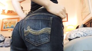 Teasing with my ass - Erotic