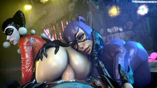 Harley & Catwoman