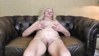 Hairy grandma - Granny